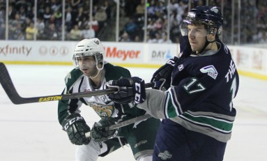 NHL Draft Prospect Shea Theodore is Slinging it in Seattle