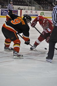 Travis Konecny of the Elgin-Middlesex Chiefs displayed his elite offensive skill during the 2013 OHL Cup (Photo by Brendan Ross/The Scouting Bureau)