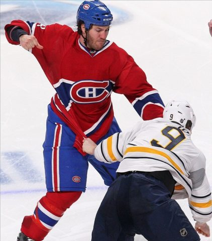 Brandon Prust montreal hockey