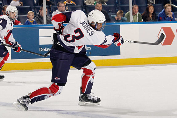 Seth Jones is like Superman mixed with Captain America mixed with Indiana Jones but on skates (Image Courtesy of TheHockeyGuys.net)