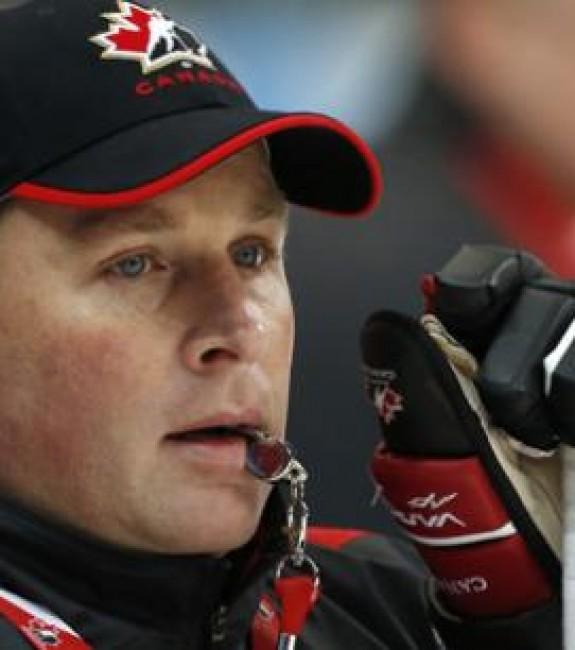 Steve Spott hockey coach