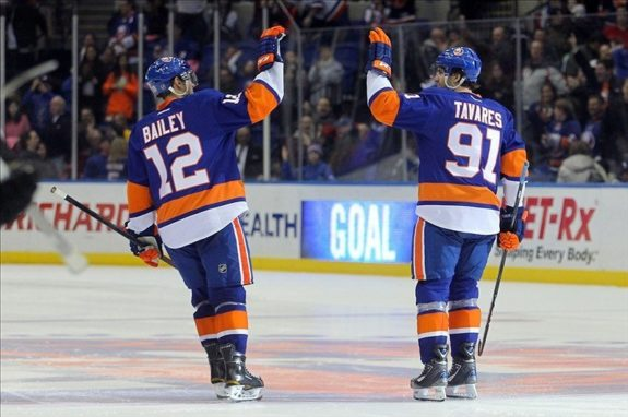 Josh Bailey John Tavares New York Islanders
