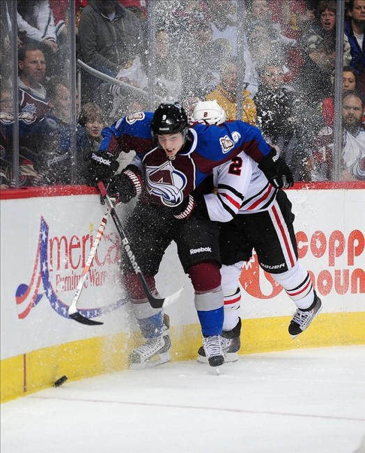 Duchene and the Avalanche finished last in the West (Ron Chenoy-USA TODAY Sports)
