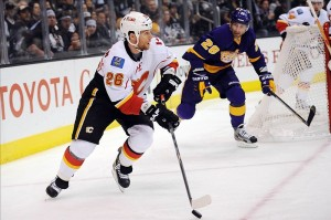 Robert Hagg's playing style mirrors that of Dennis Wideman (Kelvin Kuo-USA TODAY Sports)