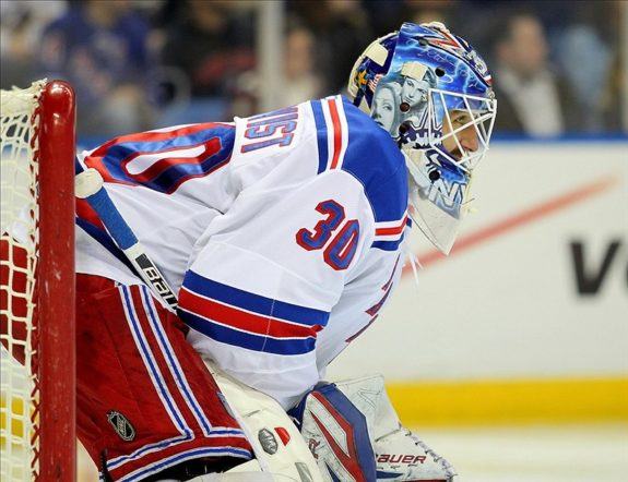 Henrik Lundqvist's first Stanley Cup could cement him as an all-time great (Timothy T. Ludwig-USA TODAY Sports)