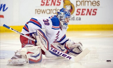 Lundqvist Marches into the NY Rangers Record Book