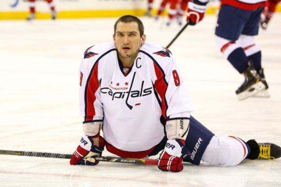 Washington Capitals ALEX OVECHKIN - Photo By Andy Martin Jr