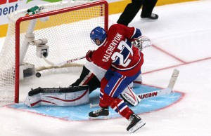 Galchenyuk is red-hot for the Habs (Credit: Jean-Yves Ahern-USA TODAY Sports)