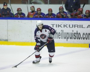 Team USA assistant captain Garret Hepperly. (Photo Courtesy of Maureen Lingle)