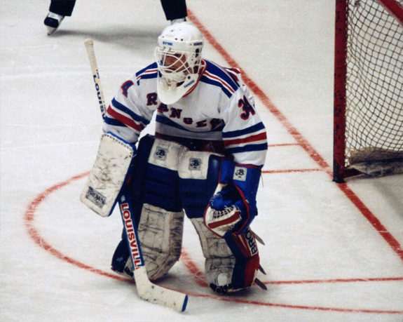 John Vanbiesbrouck, New York Rangers (Joe Schilp, Jr./Flickr)