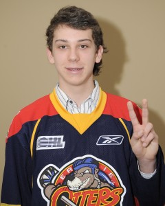 Dylan Strome shortly after being selected by the Erie Otters. (OHL Images)