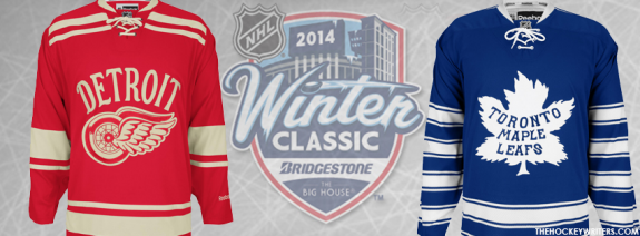 Two Original Six teams will renew their rivalry outdoors at Michigan Stadium on January 1.