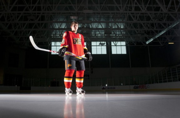 Ottawa 67's select Travis Konecny 1st overall from the Elgin-Middlesex Chiefs (Photo: London Free Press)