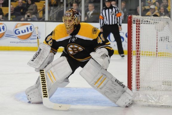 Boston Bruins Struggles Tuukka Rask
