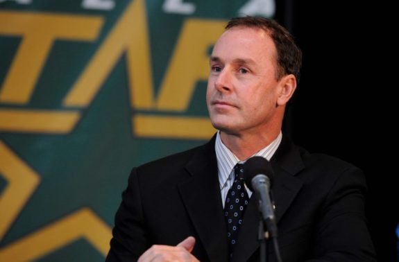 Dallas Stars GM Joe Nieuwendyk