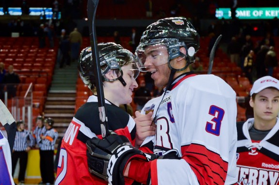 Nate MacKinnon and Seth Jones