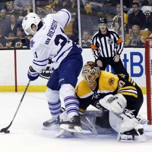Toronto Maple Leafs, Boston Bruins, Tuukka Rask, James van Riemsdyk