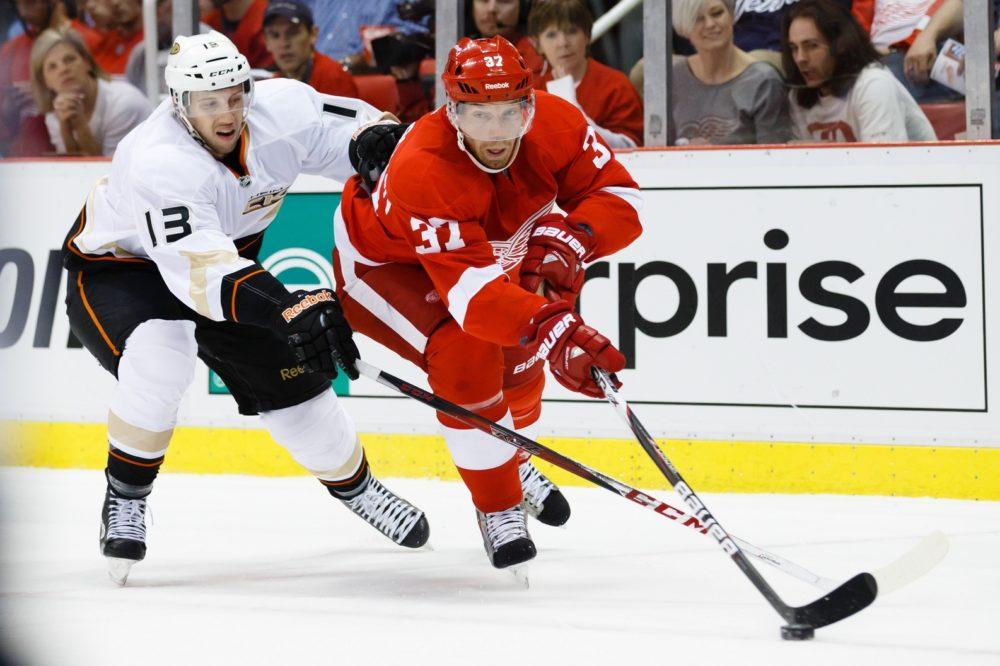 Mikael Samuelsson, Detroit Red Wings