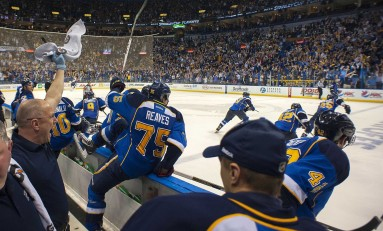 St. Louis Blues Best Line Combinations