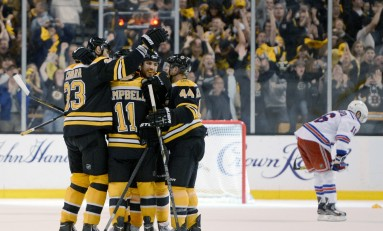 Bruins Get a Boost of Confidence in Win Against Rangers
