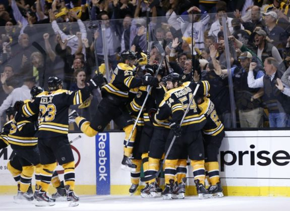 Boston Bruins, OT winner