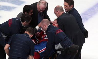 Lars Eller Injury Will Weigh Heavy on Canadiens