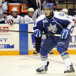 Nick Baptiste (Aaron Bell/OHL Images)