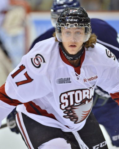 Tyler Bertuzzi of the Detroit Red Wings.
