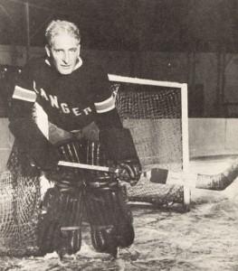Lester Patrick as a goaltender