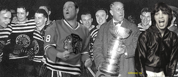 Mick Jagger Vince Vaughn and the 1934 Chicago Blackhawks