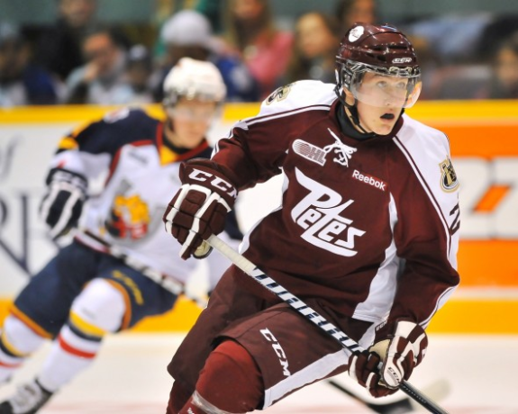 Nick Ritchie, NHL, Hockey, OHL, Peterborough Petes, Toronto Maple Leafs, THW
