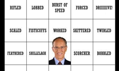 Doc Emrick Playoff Bingo!