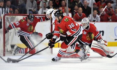 Blackhawks Show Resiliency In Game One