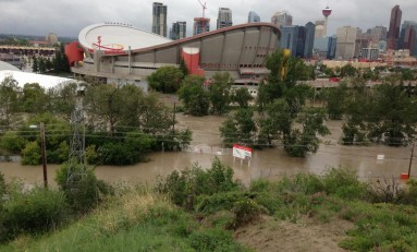 Report: Major Flood Damage To Calgary's Scotiabank Saddledome