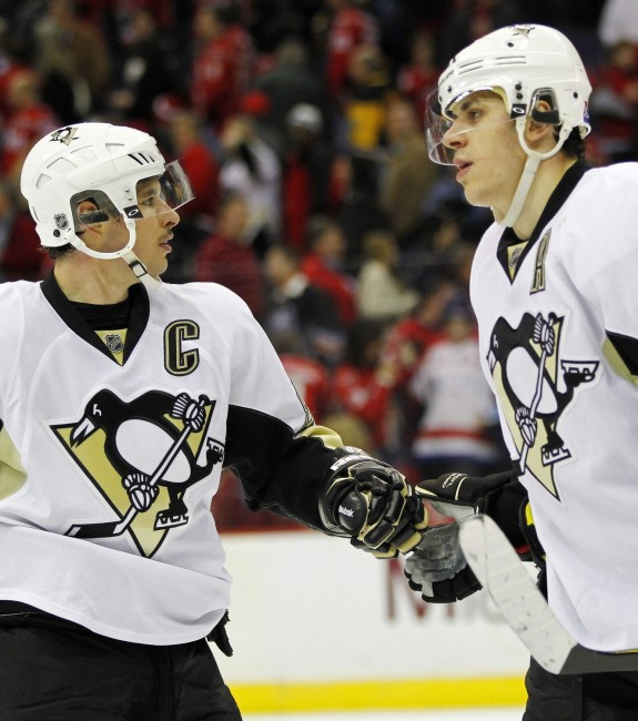 Pittsburgh Penguins, Sidney Crosby, Evgeni Malkin, Hockey, NHL