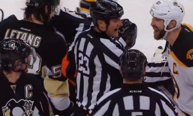 Scouting the Refs: Penguins/Bruins - Game 2