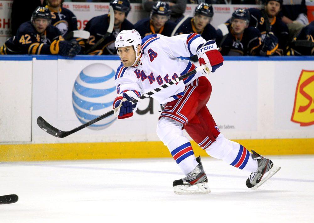 Dan Girardi, New York Rangers, NHL
