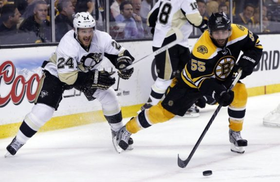 The Bruins are gambling with Johnny Boychuk if they choose to retain the 30-year-old. Especially fellow defensemen Matt Niskanen and Brooks Orpik signed for a combined $67 million this past July.