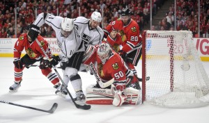 Anze Kopitar is leading the Kings toward the playoffs once again. (Rob Grabowski-USA TODAY Sports)