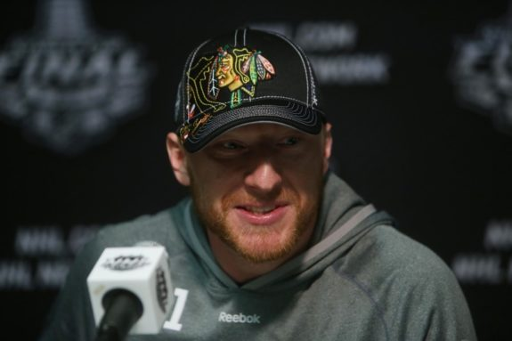 Marian Hossa has had a lot to smile about during his NHL career. (Jerry Lai-USA TODAY Sports)