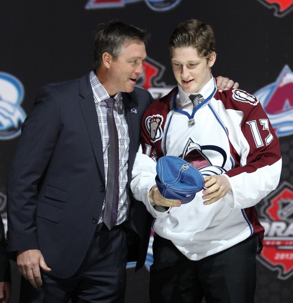 But hey I was the #1 pick in the 2013 NHL Draft......(Ed Mulholland-USA TODAY Sports)