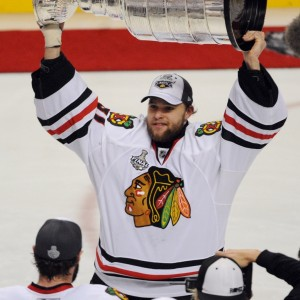 Ex-Chicago Blackhawks goalie Antti Niemi