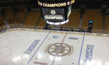 Home-Ice Advantage Very Real in Boston