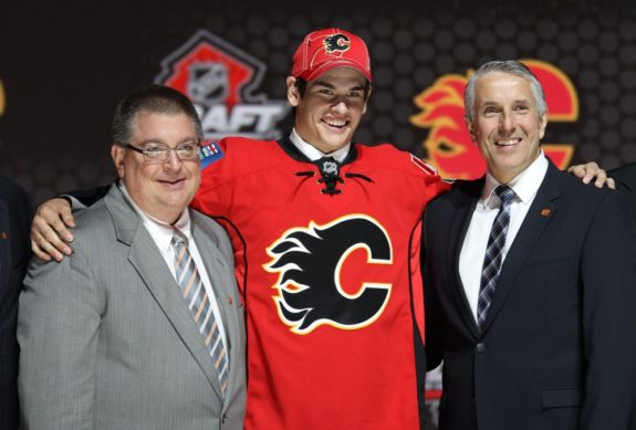 Sean Monahan, 2013 NHL Entry Draft