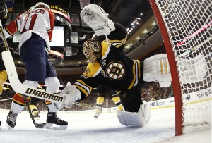 Tuukka Rask  (Winslow Townson-USA TODAY Sports)