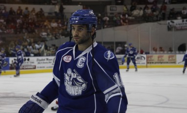 Q&A With Syracuse Crunch Captain Mike Angelidis