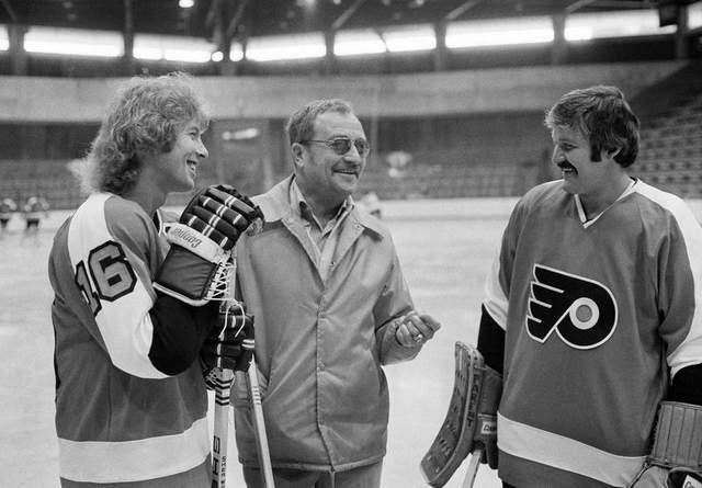Fred Shero, Bobby Clarke, Bernie Parent
