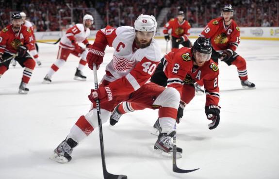 Zetterberg (Rob Grabowski-USA TODAY Sports)