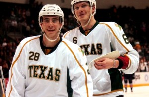 Smith and Jamie Oleksiak (Ross Bonander / THW)
