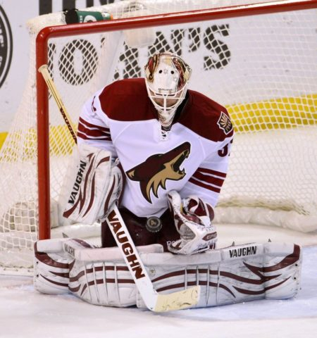 Chad Johnson, Phoenix Coyotes